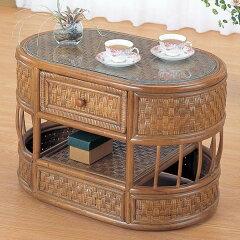 籐[ラタン]テーブル