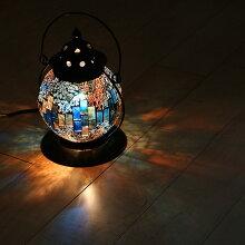 ランタン テーブルライト モザイクランプ クリムト ランタン型