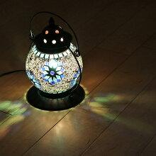 照明 テーブルライト モザイクランプ ミフリマ ランタン型