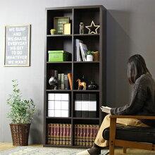 本棚 A4収納 ブックシェルフ アーレア 約幅79cm