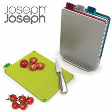 Joseph Joseph ジョゼフジョゼフ インデックス付まな板ミニ 4枚セット ケース付き