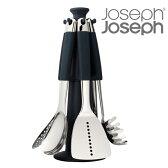 Joseph Joseph ジョゼフジョゼフ エレベートスチールカルーセルセット100 ( 送料無料 キッチン ツール 調理用品 収納 セット 食洗機可 )