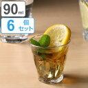 DURALEX デュラレックス PICARDIE ピカルディ 90ml 6個セット ( グラス コップ ぐらす ガラス タンブラー )
