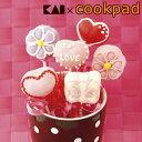 ロリポップセット ハート リボン 花 シリコン製 ケーキ型 12個取 ...