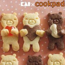 クッキー型 くま