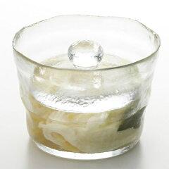 ガラス製 浅漬鉢