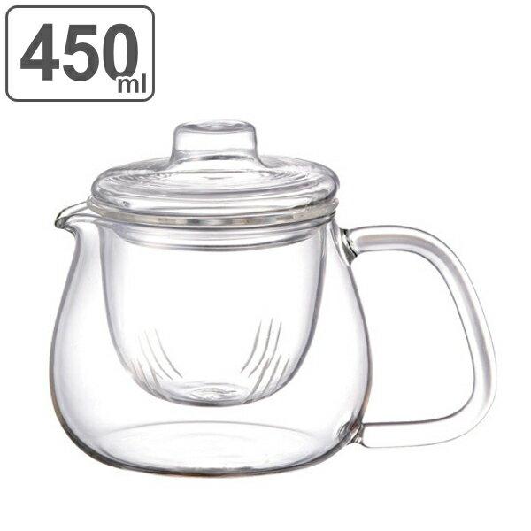 キントー KINTO ティーポット UNITEA ユニティ 500ml S 耐熱ガラス製 ガラス蓋 ( 紅茶ポット 急須 ガラスポット ポット ガラス 食洗機対応 茶こし付 )