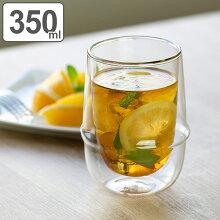 ガラス コップ ロングタンブラー ブリッツ 375ml 3個セット