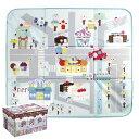 プレイマット 収納ボックス キャンディ おもちゃ お菓子の家 収納 子供用 ( マット 片付け おもちゃ箱 オモチャ 玩具 子ども部屋 子供 幼児 お片付けボックス たためる )