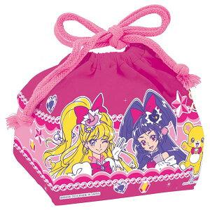 お弁当袋 ランチ巾着 魔法つかいプリキュア! 子供用 キャラクター ( 給食袋 ランチボックス…