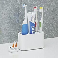 【ポイント最大14倍】便利な歯磨きスタンド!歯ブラシスタンド 歯ブラシ立て 洗面用品オーラル...