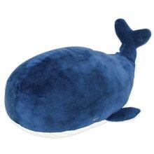 クッション 動物 ボルスター マシュマロアニマル クジラ カナロア