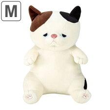 抱き枕 ぬいぐるみ 座り抱きまくらM ネコ ゆず プレミアムねむねむアニマルズ