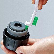 キッチンブラシ ミニブラシ 中栓・フタ掃除用 ボトル中栓洗いセット ボトル洗い隊 スリムブラシ1本 溝用スティック2本