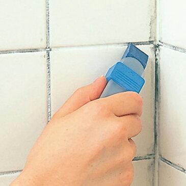 MARNA マーナ 掃除の達人 すみずみ消しゴム ケース付き 掃除クリーナー ( 掃除ブラシ クリーナー 水垢掃除 バスクリーナー お風呂掃除 浴室ブラシ 掃除用品 )