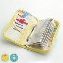 マルチポーチ 管理上手さんのマルチポーチ お金 管理 仕分け ケース ( 財布 サイフ さいふ ポーチ カード入れ 通帳入れ 母子手帳 パスポート 貴重品入れ 旅行 トラベル コンパクト 持ち運び リフィル付き ポケット )