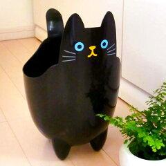 ゴミ箱 ダストボックス ねこのダスト ねこのしっぽ 黒 ( ごみ箱 小物入れ 収納 猫 雑貨 …
