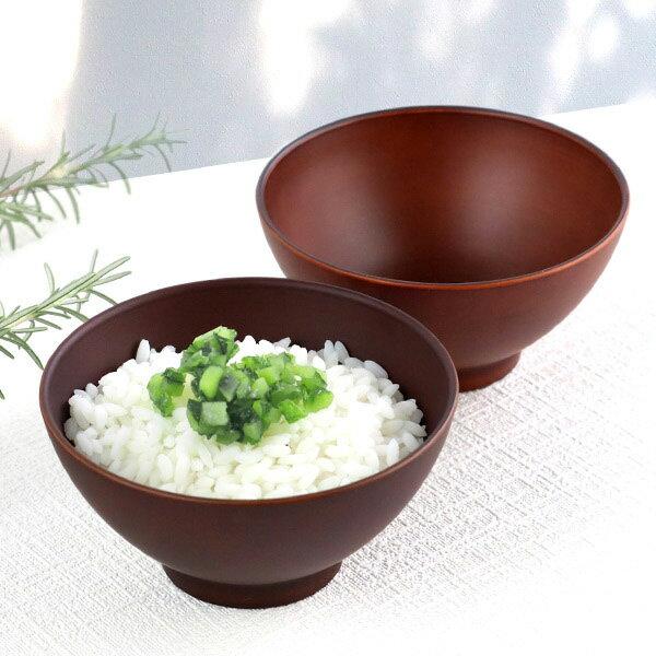 お茶碗 12cm SEE プラスチック 食器 日本製 おしゃれ ( 電子レンジ対応 食洗機対応 木製風 茶わん 木目調 ライスボウル 茶碗 ごはん カフェ風 割れにくい )