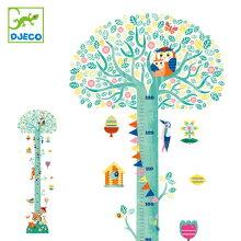 身長計 ブロッサミングツリー 40cm~130cm ウォールステッカー シール 子ども おもちゃ 知育玩具 ジェコ DJECO