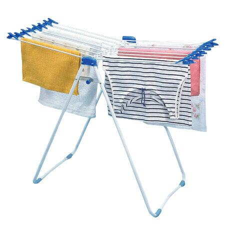 物干しスタンド 45 室内物干し クリップ付き 16枚掛け 折りたたみ式 ( スタンド物干 洗濯物干し 物干しハンガー 部屋干し 省スペース コンパクト )
