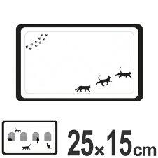 トレイ 25×15cm メラミントレイ ネコ