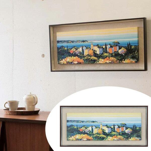 インテリアアート ケルフィリー SEA SCAPE 02 (アートパネル 壁掛け 壁飾り アート アートデコ ウォールアート インテリア 美術品 おしゃれ 引越 祝い ):リビングート