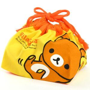 【ポイント最大11倍】キャラクターリラックマのお弁当袋で楽しいランチタイム♪ ランチ巾着 給...