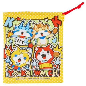 コップ袋 妖怪ウォッチ トムニャン 子供用 キャラクター ( 子供用 給食袋 子供用コップ 給食袋 ランチボックス 巾着 子供用お弁当袋 )