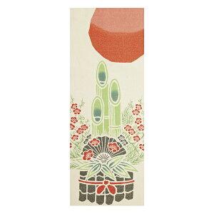 Tenugui Hilo de oro Tenugui Kadomatsu Hecho en Japón (toallas de mano Tenugui Decoración interior pared decorativa de la pared Tapiz de moda Pañuelo Toalla de mano Kadomatsu Matsu Año Nuevo Año Nuevo)