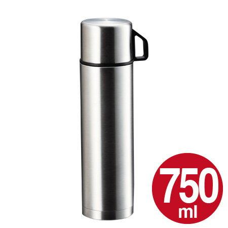 水筒 ステンレスボトル コップ付 750ml スタイルベーシック