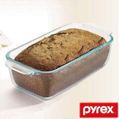 PYREX(パイレックス)basicsパウンド・ローフディッシュパウンドケーキ皿ガラス製1.4L