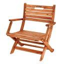 折りたたみチェア 1人掛け ミッドスタイルチェア ディレクターチェア 木製 肘付き ( 送料無料 ガーデンチェア 折りたたみ チェア アウトドアチェア アウトドア キャプテンスタッグ 天然木 椅子 ガーデンファニチャー )