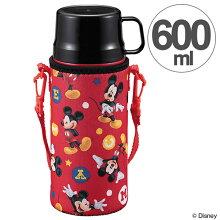 水筒 2WAYキッズボトル 600ml ディズニー ミッキーマウス コップ付き 直飲み キャラクター