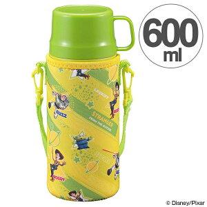 水筒 2WAYキッズボトル 600ml ディズニー トイ・ストーリー コップ付き 直飲み キャラクター ( 子供用 ステンレス 保温 保冷 ステンレス製 ステンレスボトル ボトル 子供 子ども 幼稚園 小学生 トイストーリー グッズ )