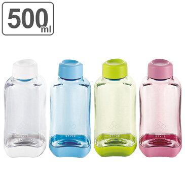 水筒 ブロックスタイル アクアボトル 500ml ウォーターボトル BPAフリー ( プラスチック製 スポーツボトル 直飲み ダイレクトボトル 目盛付き BPAFREE 1L 1リットル すいとう )