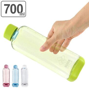 水筒 ブロックスタイル アクアボトル 700ml ウォーターボトル BPAフリー ( プラスチック製 スポーツボトル 直飲み ダイレクトボトル 目盛付き BPAFREE 1L 1リットル すいとう )