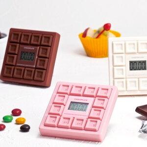 【ポイント最大12倍】板チョコモチーフの可愛いキッチンタイマー♪ クッキングタイマー チョコ...
