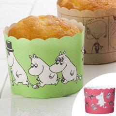 マフィンカップ 紙 ムーミン パターン 6枚入 ( マフィン型 6個 日本製 MOOMIN ベーキングカップ 6枚セット 型 焼き菓子 製菓 お菓子作り 道具 製菓道具 紙型 菓子用焼き型 )