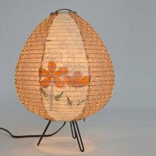 フロアライト 和紙 フロアランプ ツイン野の花