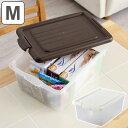収納ボックス ハコス Mサイズ ( 収納ケース 収納BOX ボックス ケース 箱 ハコ クローゼット 収納 衣類 おもちゃ箱 プラスチック おもちゃ 玩具 収納用品 ぬいぐるみ 重ねる 重なる )