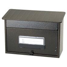 郵便ポスト 郵政型ポスト SGE-82 エンボスブラウン