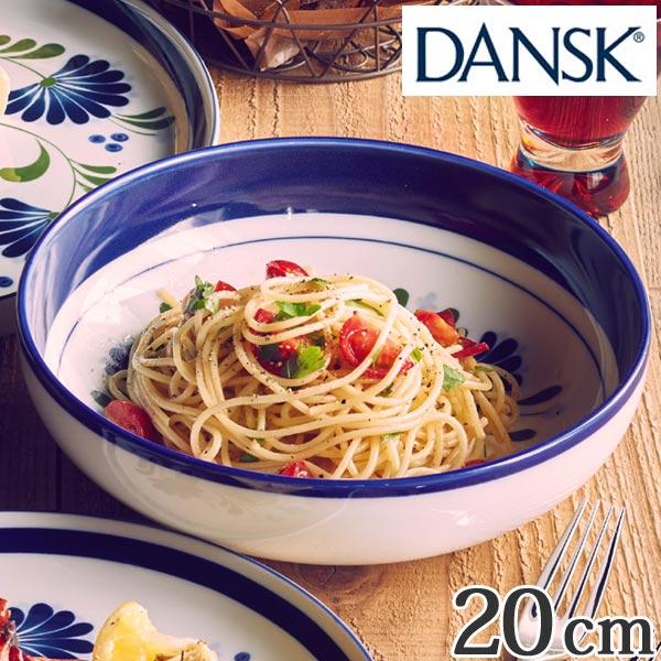 ダンスク DANSK パスタボウル 20cm セージソング 洋食器 ( 北欧 食器 オーブン対応 電子レンジ対応 食洗機対応 パスタ皿 磁器 皿 ボウル プレート 中皿 おしゃれ 器 )