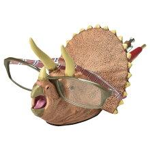 デスクキーパー ペン立て メガネスタンド 文房具 トリケラトプス 恐竜