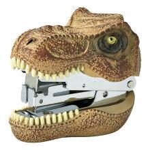 ステープラー 文房具 ティラノサウルス 恐竜 ステーショナリー