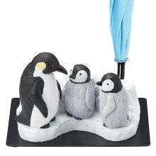 傘立て ペンギン親子 3本収納 置物 動物 傘たて アンブレラスタンド
