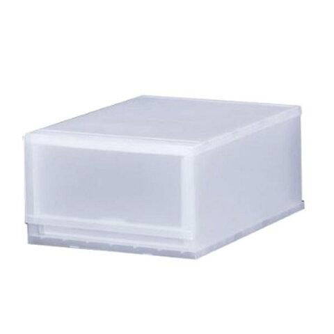 収納ケース プラスト 半透明タイプ 1段 幅34×高さ20.5cm FR3401 ( 収納ボックス 収納チェスト 引き出し プラスチック おもちゃ箱 小物入れ 積み重ね 収納BOX 衣裳ケース スタッキング 衣類収納 )
