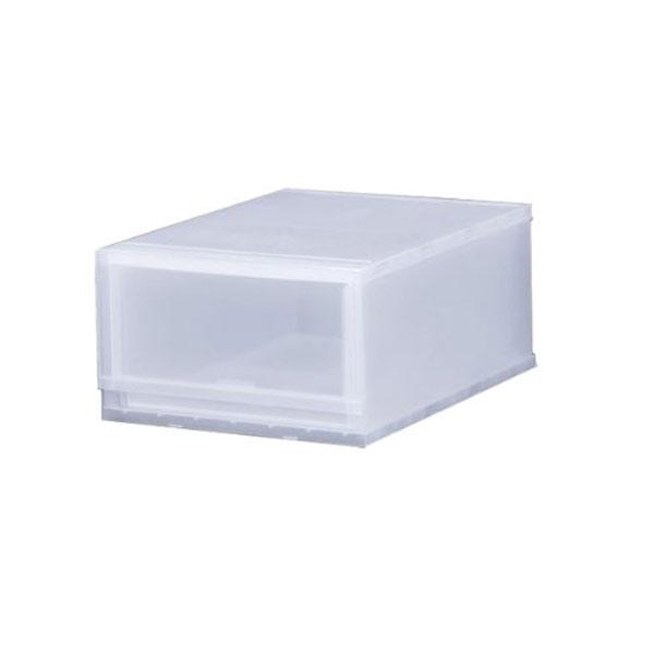 収納ケース プラスト PHOTO 1段 幅34×高さ20.5cm PH3401 ( 収納ボックス 収納チェスト 引き出し プラスチック 透明 おもちゃ箱 小物入れ 積み重ね 収納BOX 衣裳ケース スタッキング 衣類収納  クローゼット )