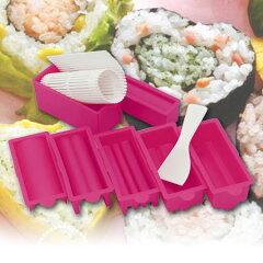 【ポイント最大11倍】かわいいハート形のすしを作ろう!巻き寿司 ハート型巻き寿司作りセット(...