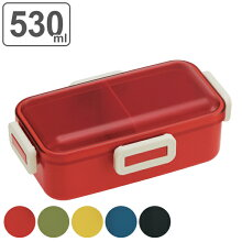 お弁当箱 レトロフレンチカラー ふわっと弁当箱 1段 530ml