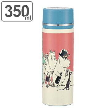 水筒 ムーミン パレット 直飲み ダイレクトマグボトル 350ml ステンレス製 ( ステンレスボトル 保温 保冷 超軽量 マグボトル ステンレスマグボトル コンパクト MOOMIN )